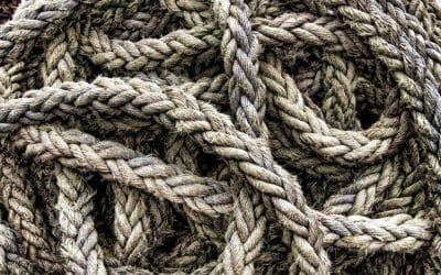 ¿Cómo realizar una trepa de decoración con cuerdas?